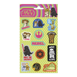 SET STICKERS STAR WARS STICKER FUN