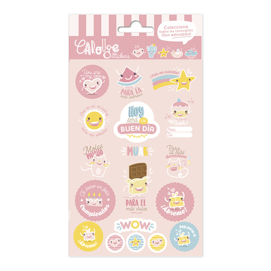 SET STICKERS CAROUGE A
