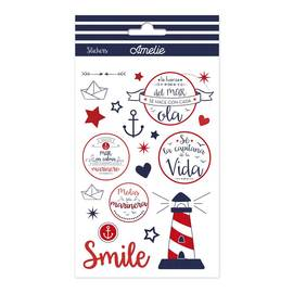 SET STICKERS AMELIE MARINERO