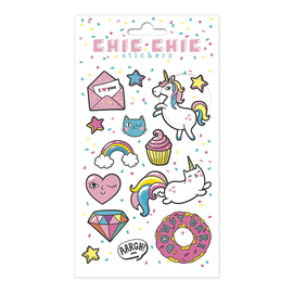 SET STICKERS CHIC CHIC