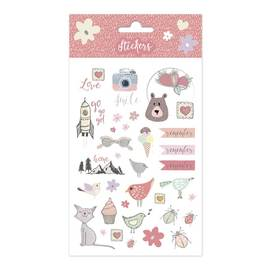 SET STICKERS CAMILA