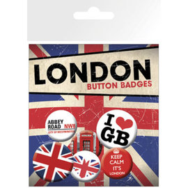 PACK CHAPAS LONDON KEEP CALM