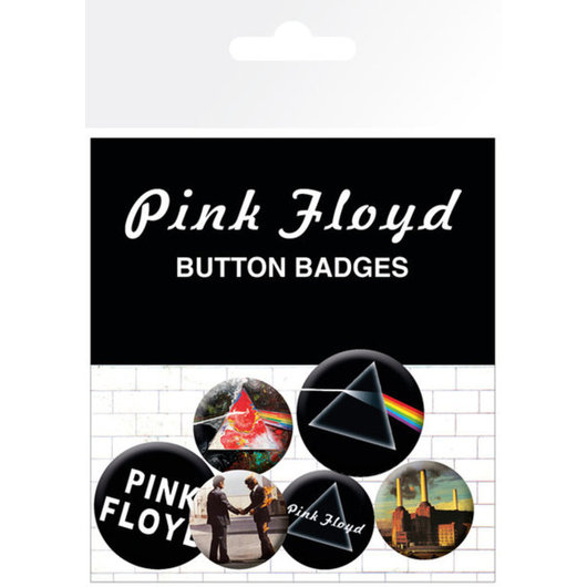 PACK CHAPAS PINK FLOYD ALBUM AND LOGOS