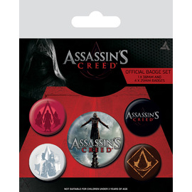 PACK CHAPAS ASSASSINS CREED MOVIE