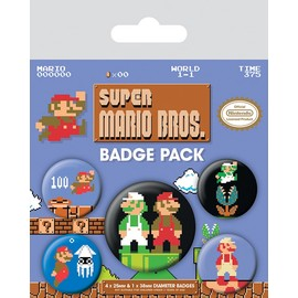 PACK CHAPAS SUPER MARIO BROS