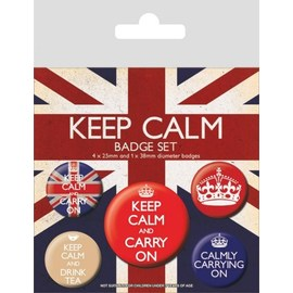 PACK CHAPAS KEEP CALM REBELS VILLAINS