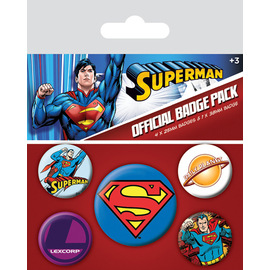PACK CHAPAS SUPERMAN