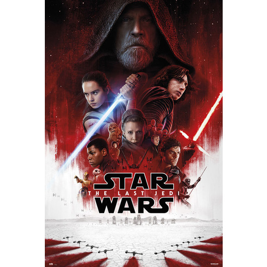 POSTER STAR WARS VIII ONE SHEET