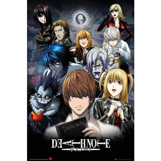 POSTER DEATH NOTE COLLAGE