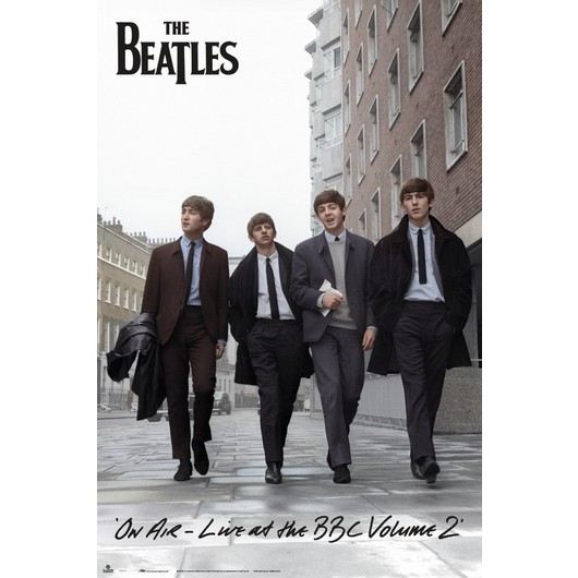 POSTER THE BEATLES ON AIR 2013