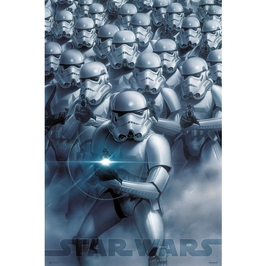 POSTER STAR WARS CLASSIC STORMTROOPERS