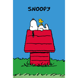 POSTER SNOOPY DOGHOUSE