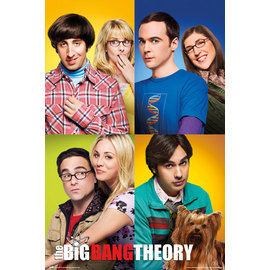 POSTER THE BIG BANG THEORY MOSAICO