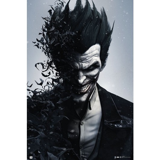 POSTER BATMAN JOKER ARKHAM ORIGINS