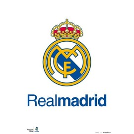 POSTER REAL MADRID - ESCUDO REAL