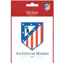 PEGATINA METAL ATLETICO DE MADRID