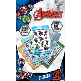 SET STICKER VINILO MARVEL AVENGERS