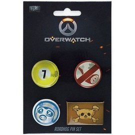 PIN SET OVERWATCH ROADHOG