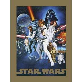 PRINT 30X40 CM STAR WARS A NEW HOPE