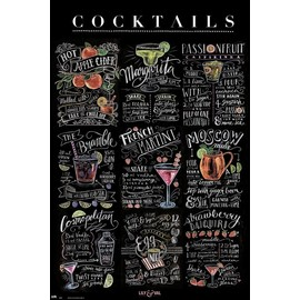 POSTER LILY & VAL COCKTAILS