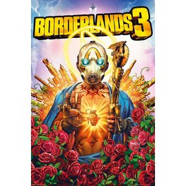 POSTER BORDERLANDS 3 COVER
