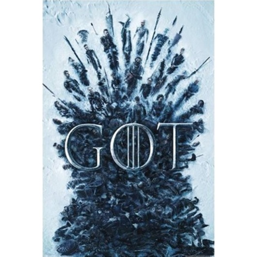 POSTER GAME OF THRONES THRONE OF THE DEAD