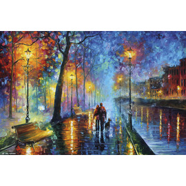 POSTER ROMANTIC COUPLE LEONID AFRÉMOV