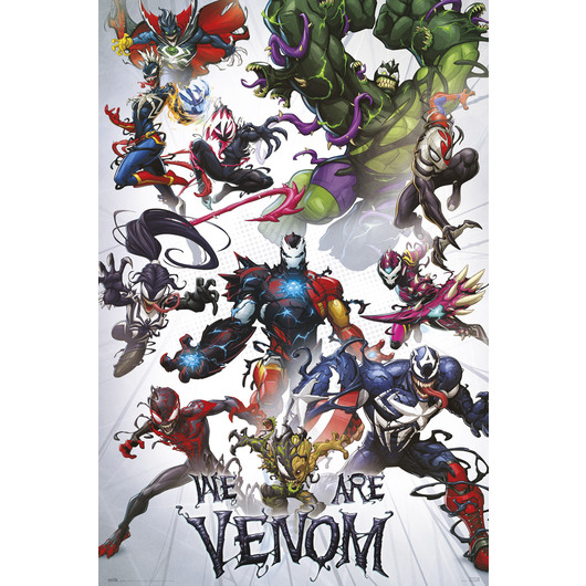 POSTER MARVEL WE ARE VENOM