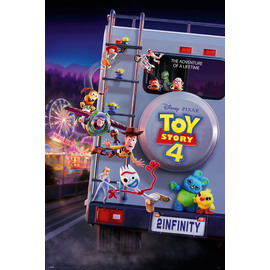 POSTER DISNEY TOY STORY 4 TO INFINITY
