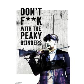 POSTER PEAKY BLINDERS DONT F**K WITH
