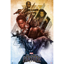 POSTER MARVEL BLACK PANTHER