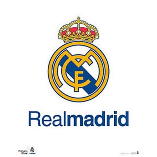 MINI POSTER REAL MADRID ESCUDO