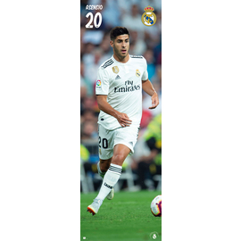 POSTER PUERTA REAL MADRID 2018/2019 ASENSIO