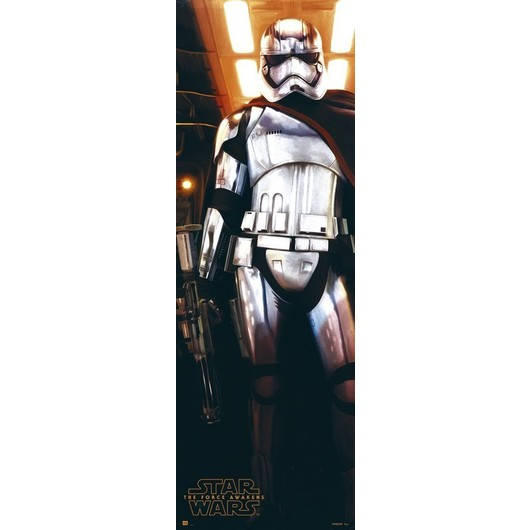 POSTER PUERTA STAR WARS CAPTAIN PHASMA