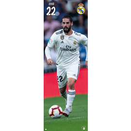 POSTER PUERTA REAL MADRID 2018/2019 ISCO