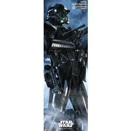 POSTER PUERTA ROGUE ONE DEATH TROOPER