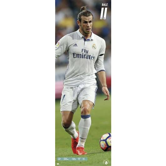 POSTER PUERTA REAL MADRID 2016/2017 BALE