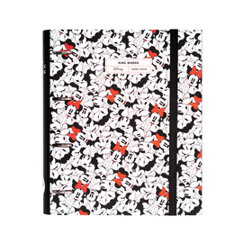 CARPETA 4 ANILLAS TROQUELADA PREMIUM MINNIE MOUSE ROCKS THE DOTS