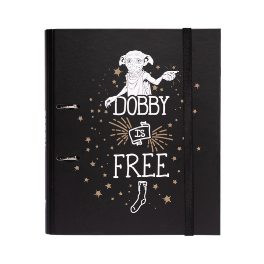 CARPETA 2 ANILLAS TROQUELADA PREMIUM HARRY POTTER DOBBY