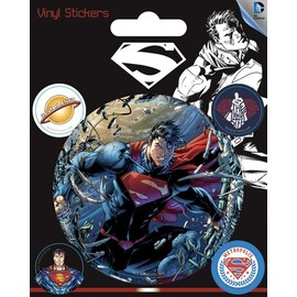 PEGATINA VINILO DC COMICS SUPERMAN