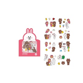 PEGATINAS DECO LINE FRIENDS