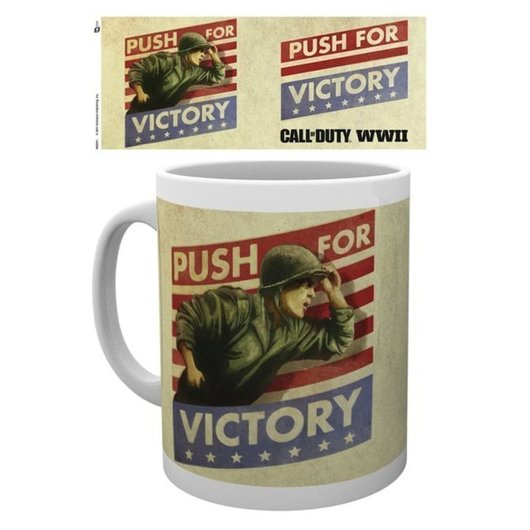 TAZA CALL OF DUTY PUSH FOR VICTORY