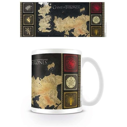 TAZA GAME OF THRONES MAP
