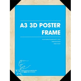 Marco Posters 3D A3 Haya