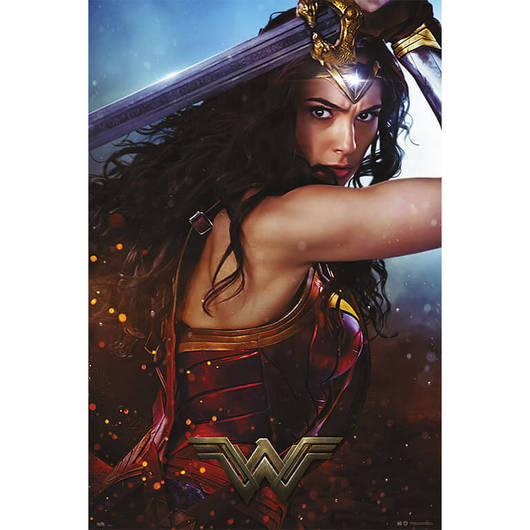 POSTER WONDER WOMAN SWORD-DCORG