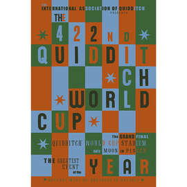 POSTER HARRY POTTER QUIDDITCH WORLD CUP