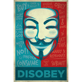 POSTER DISOBEY