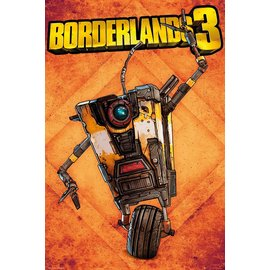 POSTER BORDERLANDS 3 CLAPTRAP