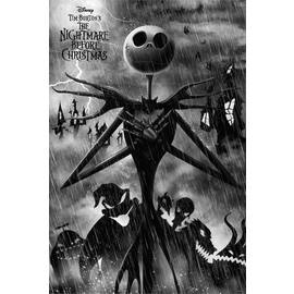 POSTER DISNEY NIGHTMARE BEFORE CHRISTMAS JACK SKELLINGTON