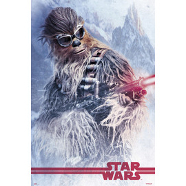 POSTER STAR WARS SOLO CHEWBACCA AT WORK